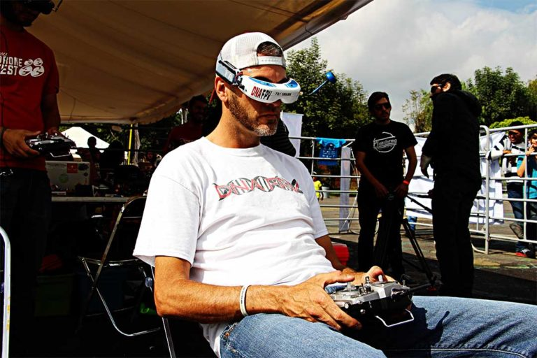 Carrera de Drones - DRN México Dron Fest